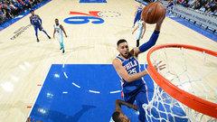 NBA: Hornets 94, 76ers 108