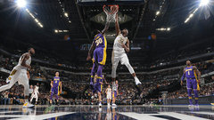NBA: Lakers 100, Pacers 110
