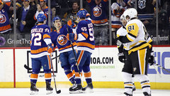 NHL: Penguins 1, Islanders 4