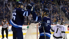NHL: Kings 1, Jets 2 (OT)