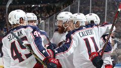 NHL: Blue Jackets 5, Rangers 3
