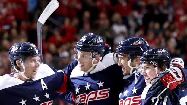 NHL: Stars 3, Capitals 4