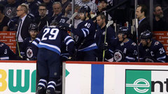 Laine leaves game after blocking shot but 'should be fine'