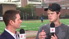 Darnold: ' I want to be picked by the team that wants me'