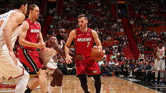 NBA: Knicks 98, Heat 119