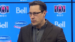 Boucher can't fault Sens' performance after very emotional day