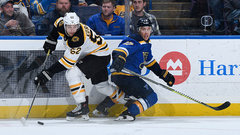 NHL: Bruins 1, Blues 2 (OT)