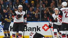 NHL: Coyotes 4, Sabres 1
