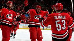 NHL: Coyotes 5, Hurricanes 6