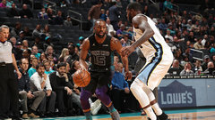 NBA: Grizzlies 79, Hornets 140