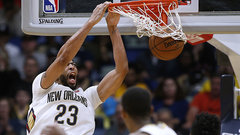 NBA: Lakers 125, Pelicans 128