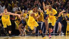 NCAA: (7) Texas A&M 72, (3) Michigan 99