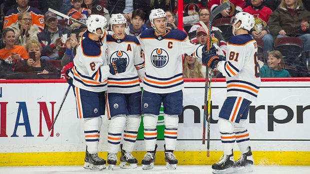 NHL: Oilers 6, Senators 2