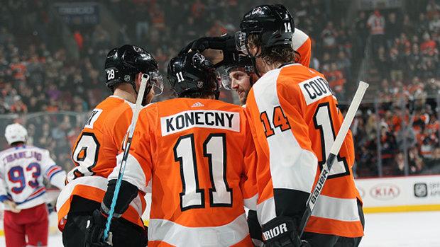 NHL: Rangers 3, Flyers 4