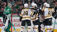 NHL: Bruins 3, Stars 2