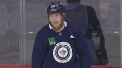 Laine wants to play tonight: 'That was his best morning skate of the year'
