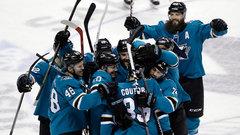 NHL: Golden Knights 1, Sharks 2 (OT)