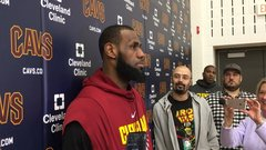 LeBron on billboard: 'It's very flattering'