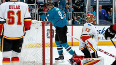 NHL: Flames 1, Sharks 5