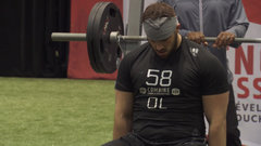 Shepley's 27 bench press reps tops the rest at CFL combine