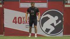 Petermann on running the fastest 40 at CFL combine