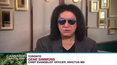 Gene Simmons says he's fascinated by the cannabis market