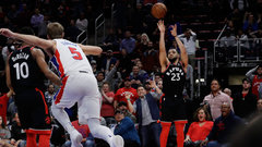 NBA: Raptors 121, Pistons 119 (OT)