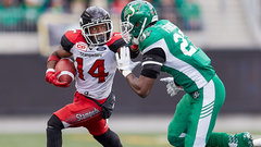 Stampeders' Finch arrested for allegedly assaulting officer