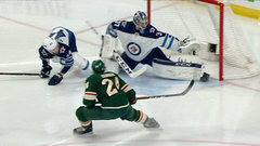Must See: Hellebuyck gets across to rob Dumba