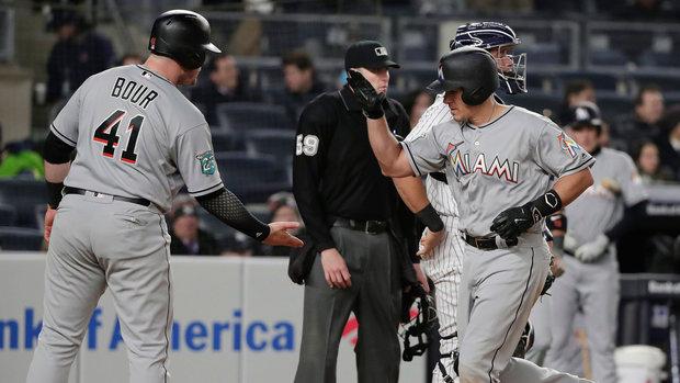 MLB: Marlins 9, Yankees 1