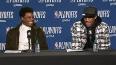 Lowry gives DeRozan a hard time after 37-point game