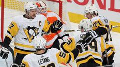 NHL: Penguins 5, Flyers 0