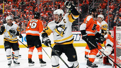 Must See: Crosby passes Lemieux to become Pens' playoff points leader