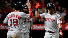 MLB: Red Sox 9, Angels 0