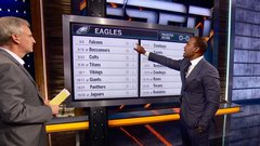 Woodson predicts Eagles' record