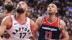 Valanciunas winning centre matchup for Raptors