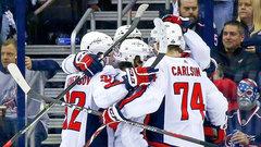 NHL: Capitals 4, Blue Jackets 1
