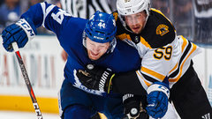 Leafs' Rielly making up for lost time