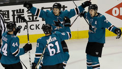 NHL: Ducks 1, Sharks 2