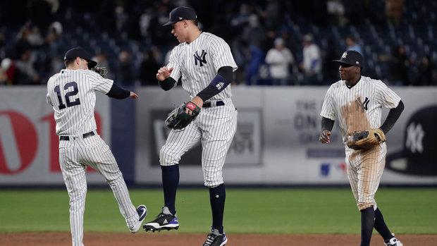 MLB: Blue Jays 3, Yankees 4