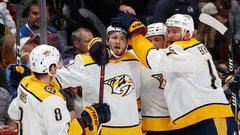 NHL: Predators 3, Avalanche 2