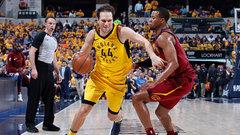 NBA: Cavaliers 90, Pacers 92