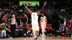 NBA: Raptors 103, Wizards 122