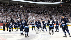 Hellebuyck, depth propel Jets into the second round
