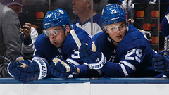 Babcock to start Matthews and Nylander on separate lines