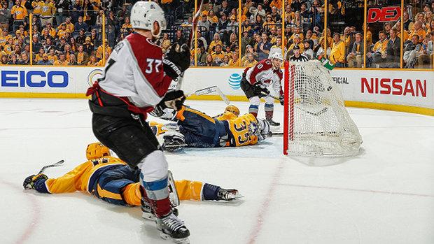 NHL: Avalanche 2, Predators 1