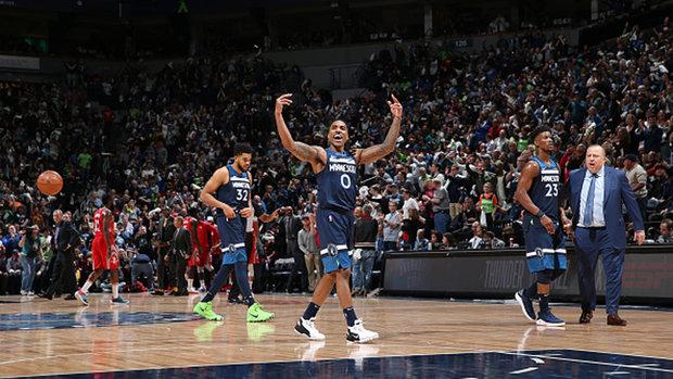 NBA: Rockets 105, Timberwolves 121