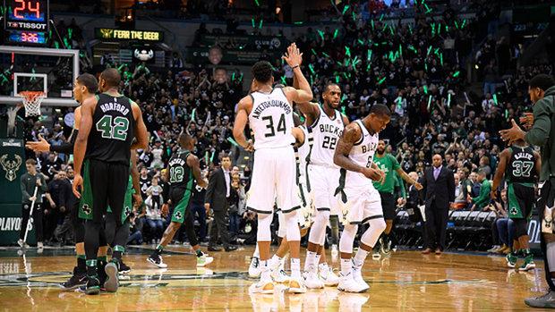 NBA: Celtics 102, Bucks 104
