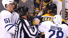 Gardiner on phantom roughing call: 'I hit Chara's fist with my face'
