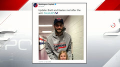 Must See: Girl who got puck from Connolly got to meet Caps forward